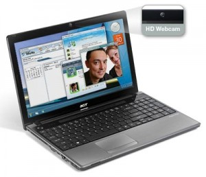 The Black Diamond version of Acer Aspire Netbook