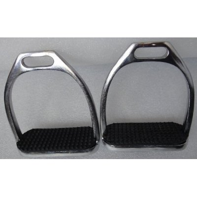 e-shaped bars on stirrups