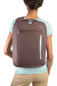 The Belkin Laptop Sling Bag in Chocolate/Tourmaline