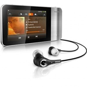 Picture of the Phillips Muse MP3 player.