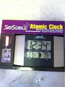 Skyscan Atomic Clock 88800/8801