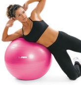 The Firm: Slim & Sculpt Stability Ball