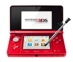 Flare Red Nintendo 3DS