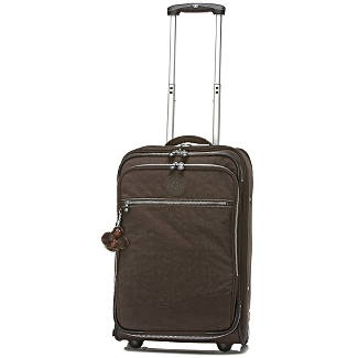 Brown Kipling 22 inch New York Expandable suitcase