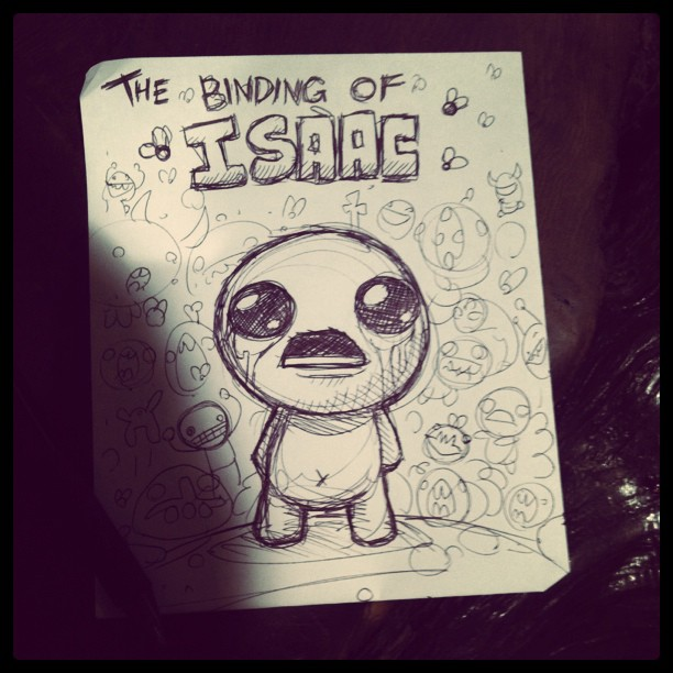 The cover art for The Binding of Isaac's soundtrack