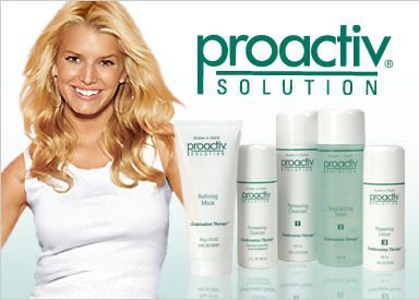 Jessica Simpson uses proactive solutions