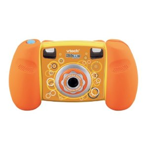 The vtech Kidizoom camera in orange