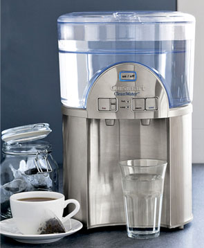 Cuisinart WCH-1500 CleanWater 2-Gallon Countertop Water Filtration System