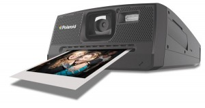 Polaroid camera printing picture