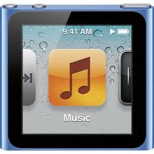 Blue iPod Nano 6th Generation 8GB