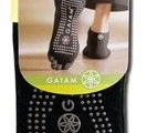 Sample packaged pair Gaiam Yoga Sock