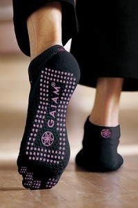 No Slip Yoga Sock by Gaiam