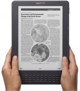 The Kindle DX