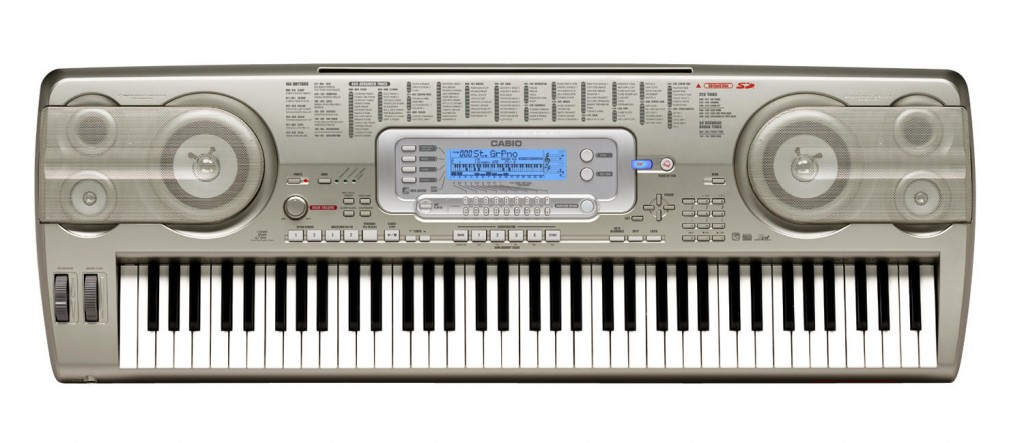 The Casio WK-3800 Keyboard