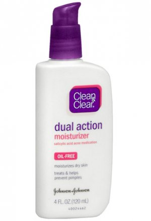 Clean and Clear Dual Action Moisturizer
