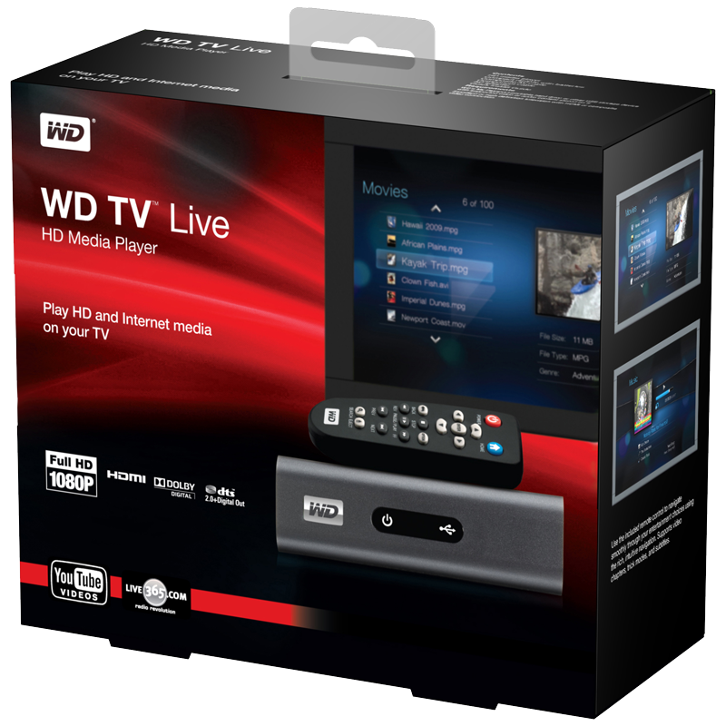 Western Digital Live Media Player