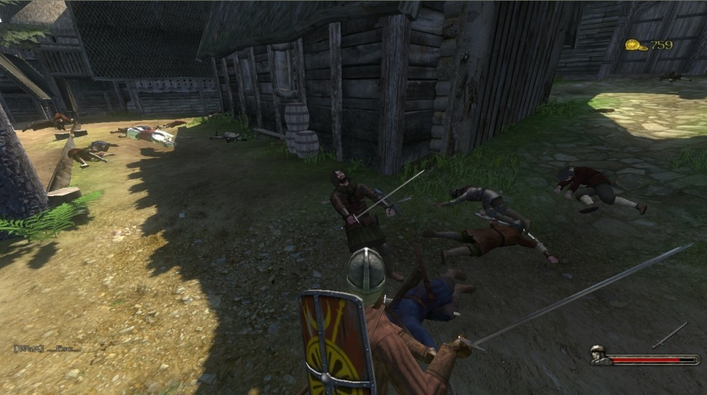 Mount and Blade combat