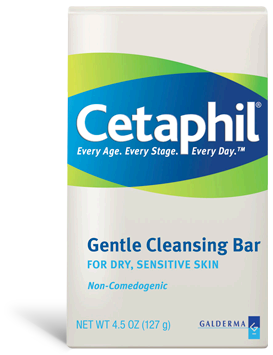 A box of Cetaphil Gentle Cleansing Bar