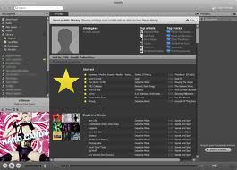 Image of Spotify interface