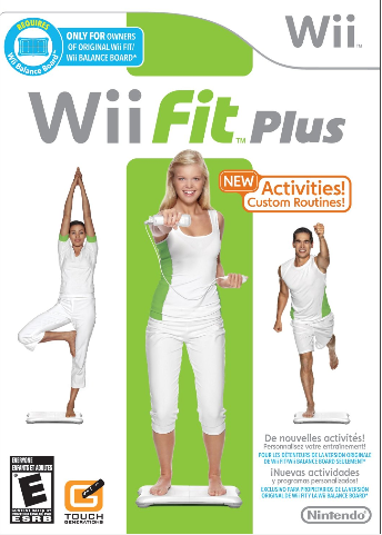 Wii Fit Plus is a game for anyone to exercise in the privacy of their home.