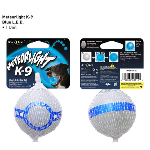 Meteorlight K-9 LED dog ball