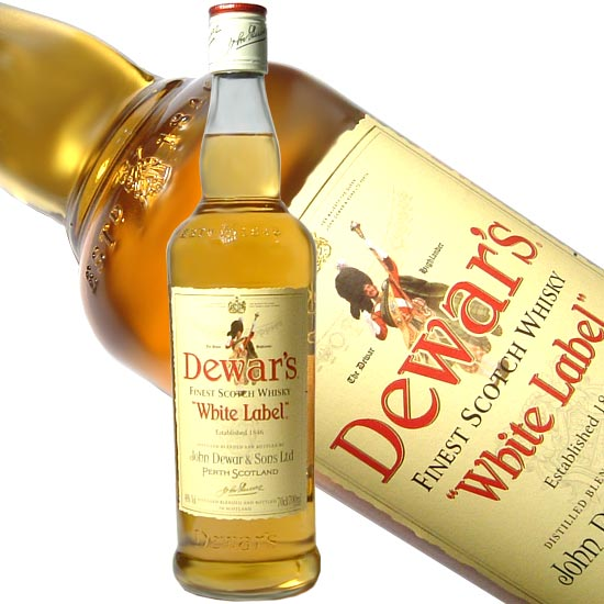 Dewar's White Label Blended Scotch Whiskey