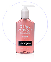 Neutrogena face wash