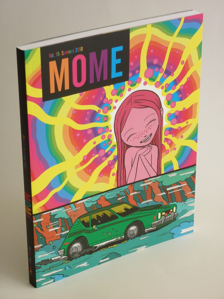 Mome graphic novel stands up by itself