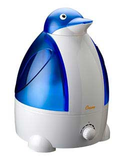 The Crane 2.1 Gallon Penguin Cool Mist Humidifier
