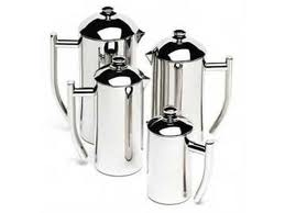 4 sizes of Frieling Polished Stainless Steel French Press