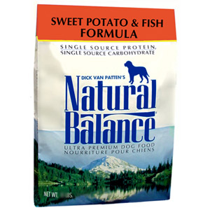 Bag of Natural Balance Limited Ingredient Food