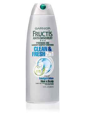 Garnier Fructis Anti-Dandruff 2-In-1 Clean & Fresh Shampoo + Conditioner