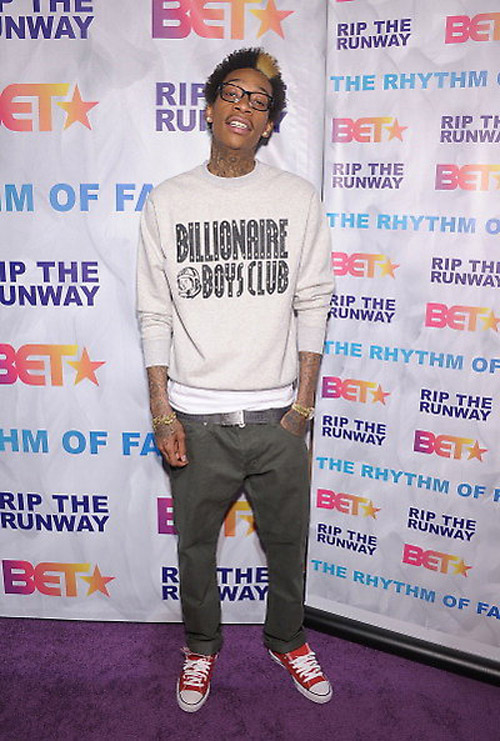 Wiz Khalifa wearing Chucks.