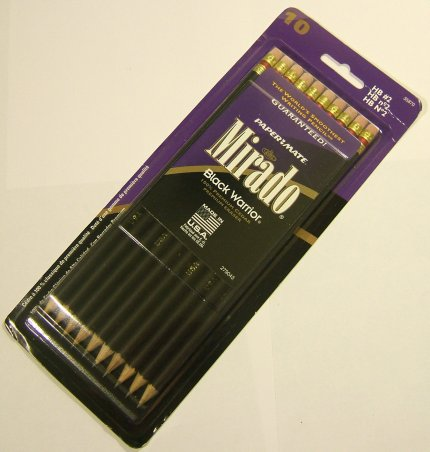 Photo of Paper Mate Mirado Black Warrior #2 Pencils
